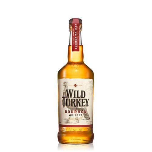 Bebida Whisky Bourbon Wild Turkey - 1 L