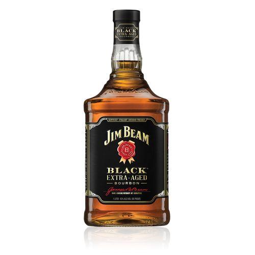 Bebida Whisky Bourbon Jim Beam Black Extra Aged 750ml