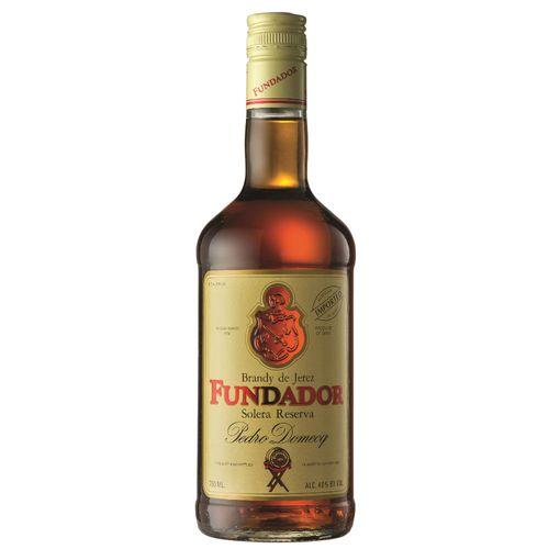 Bebida Conhaque Fundador Solera Reserva 750ml