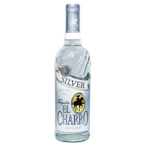 Bebida Tequila El Charro Silver - 750ml
