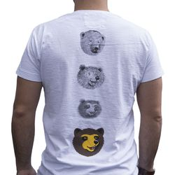 Camiseta-Manga-Curta-Urso-Branca-Verso