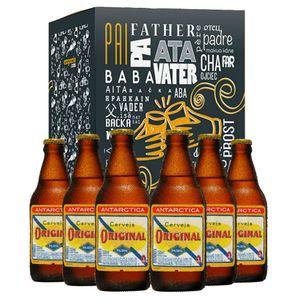 Kit-Presente-Dia-dos-Pais-Cervejas-Antarctica-Original-300ml