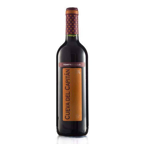 vinho-tinto-espanhol-tempranillo-cueva-capitan-oferta-barato