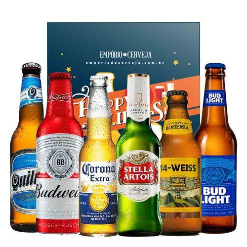 3b958937d EMPÓRIO DA CERVEJA – Kit Presente de Natal Cervejas Leves – Caixa Hoppy  Holidays –  DESCONTO EXCLUSIVO