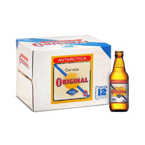 02e709db28ada Cerveja Antarctica Original 300ml Caixa (12 unidades) - Empório da ...
