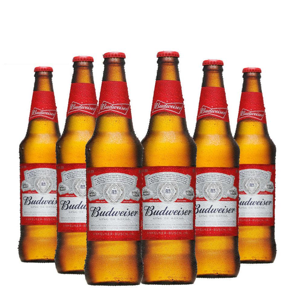 Preferência Cerveja Budweiser 600ml - Caixa com 12 Unidades - Empório da Cerveja RU57