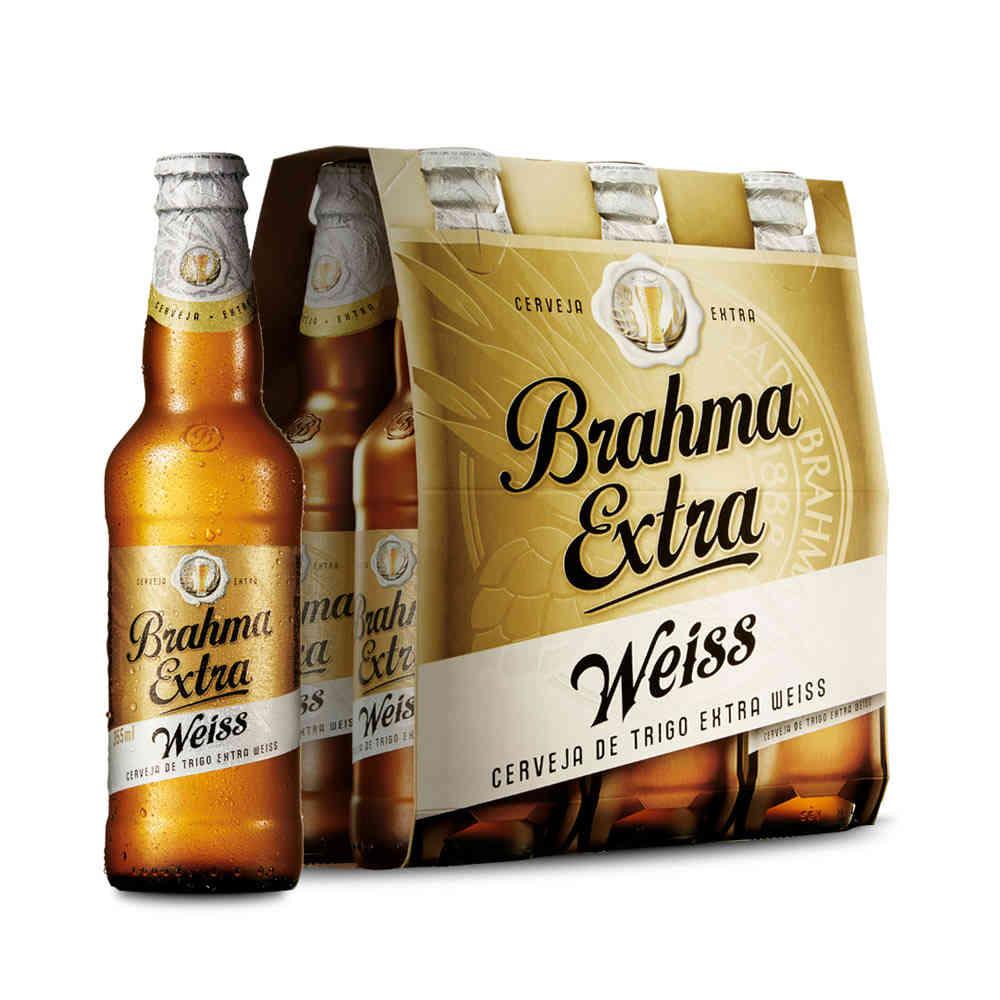 02dc73c1cca9f Cerveja Brahma Extra Weiss 355ml Caixa (6 Unidades) - Empório da Cerveja