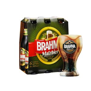 Kit-Cerveja-Malzbier-355ml---6-unidade-Copo-Brahma-Black