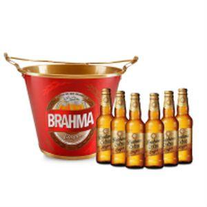 Kit---Compre-1-Balde-Brahma-GANHE-6-Cervejas-Brahma-Extra-Lager