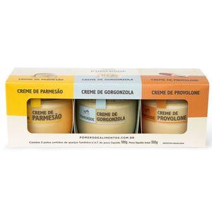 Kit-3-potes-Creme-Parmesao-Pomerode--300g