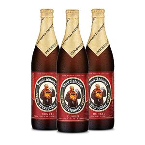Cerveja-Franziskaner-Hefe-Weissbier-Dunkel-500ml---3-unidades