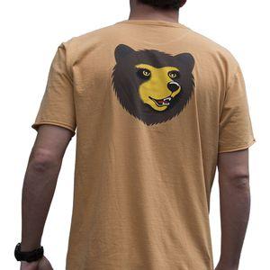 Camiseta-Manga-Curta-Tinturada-Laranja-Verso