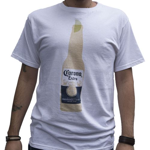 Camiseta-Importada-Corona-Tubular-White-Frente