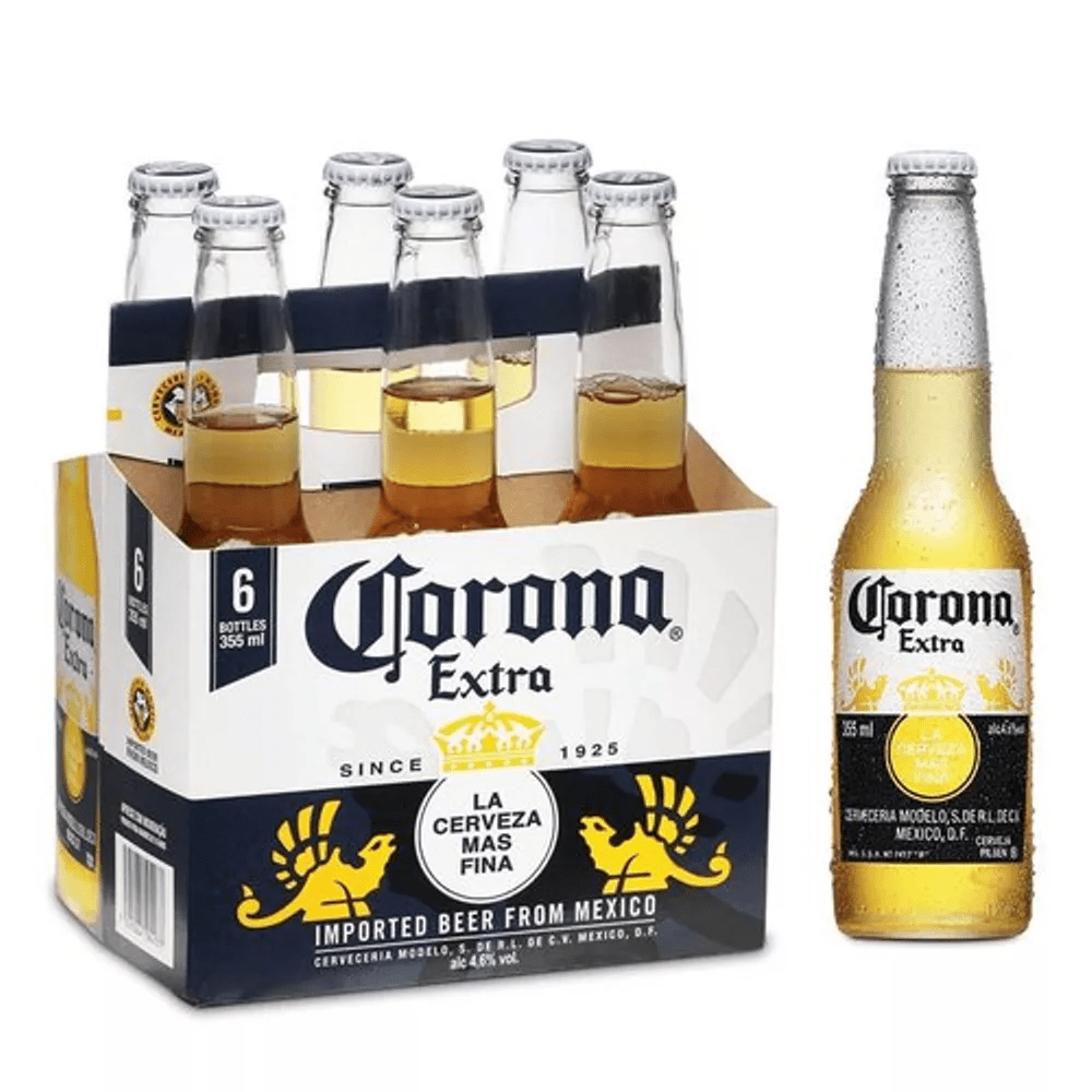 fcc6d04125711 Cerveja Corona Extra 355ml Pack (06 unidades) - Empório da Cerveja