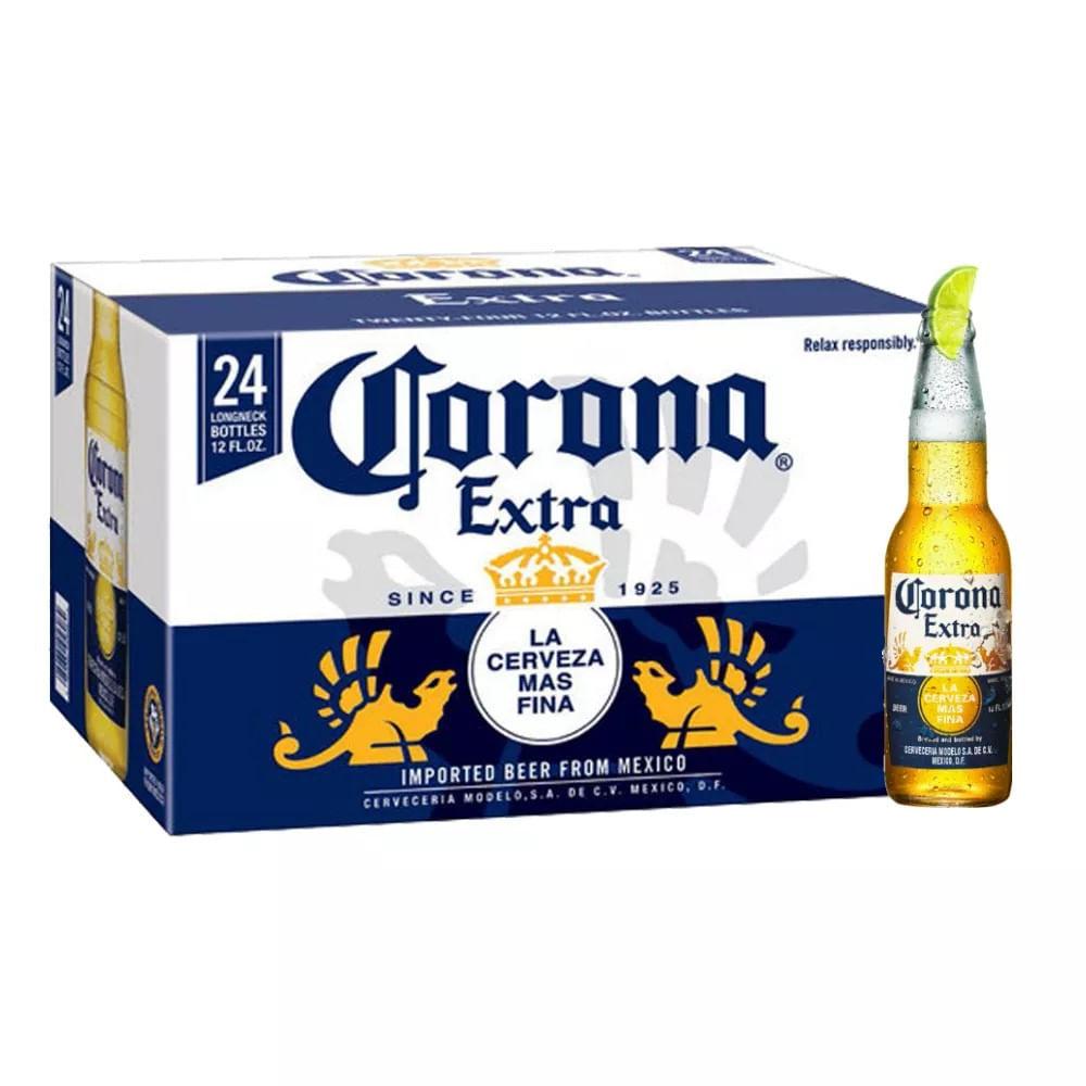 eaa8a79546 Cerveja Corona Extra 355ml Caixa com 24 unidades - Empório da Cerveja