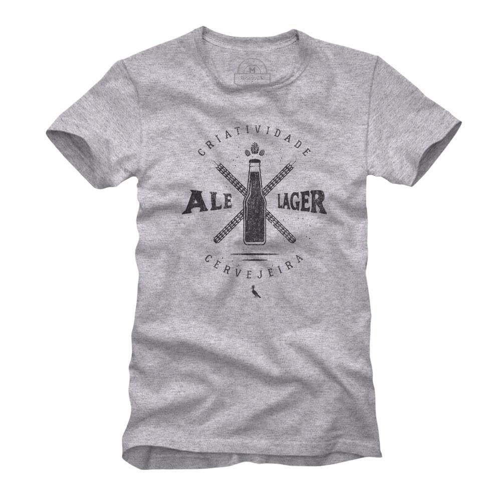 f077c08f7 Camiseta Masculina Ale ou Lager 1 - Empório da Cerveja