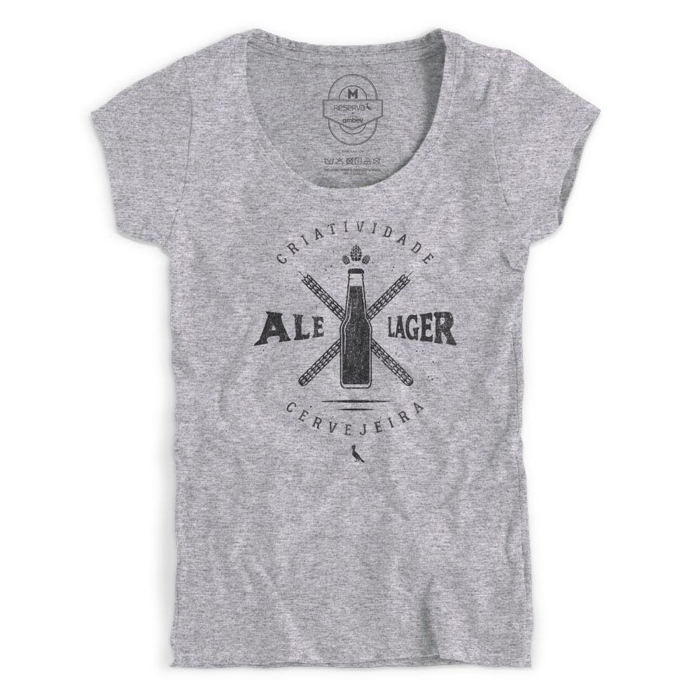7afbd335d Camiseta Reserva Feminina Ale ou Lager 1 - Empório da Cerveja