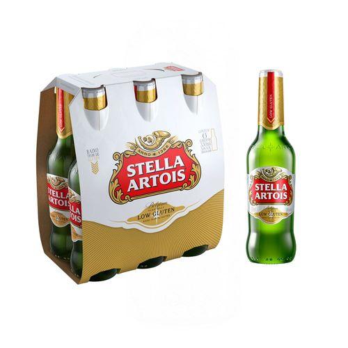 Pack-Stella-Artois-Low-Gluten-330ml-6-Unidades