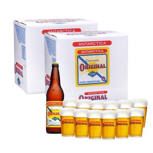 Kit-24-Cervejas-Original-600ml---12-Copos-Original-190ml